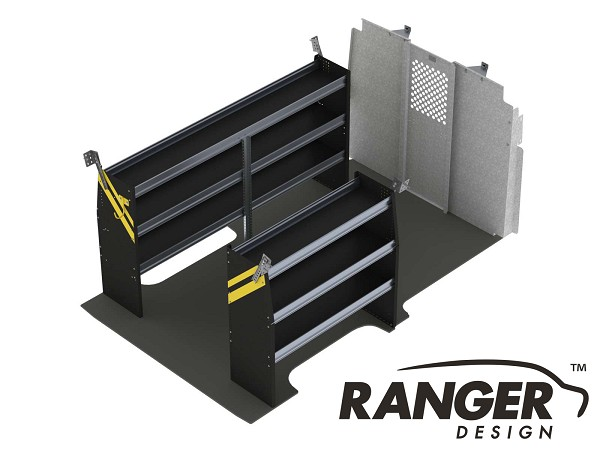 Ranger Design Contractor Steel Shelving Package for 146