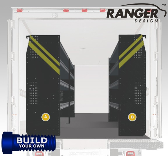 Ranger Design 14' FT Box Truck Build Your Own Shelving Package