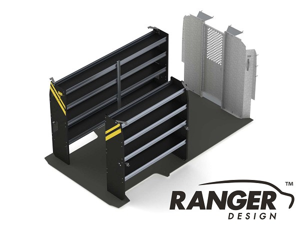Ranger Design Contractor Steel Shelving Package for 159