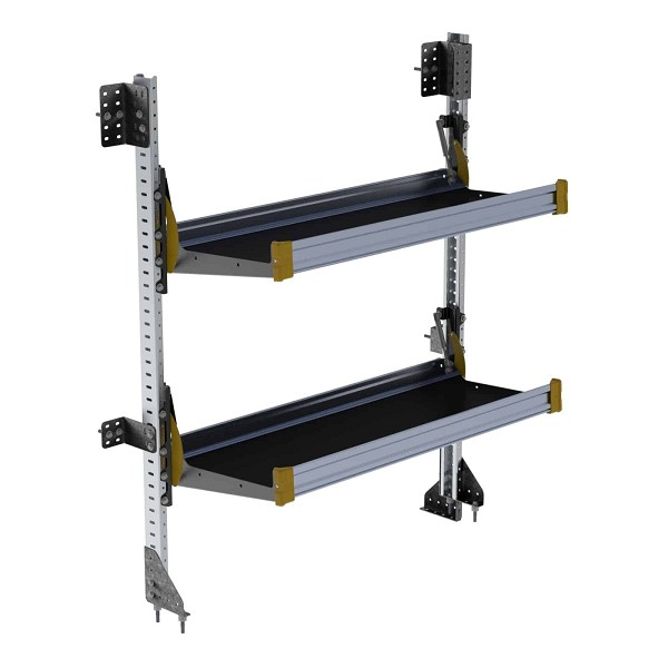 Ranger Design 2-Level Fold-Away Shelf with 48