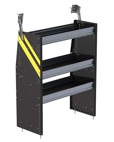 Ranger Design Steel 36in Shelving Unit for Low Roof and Compact Vans