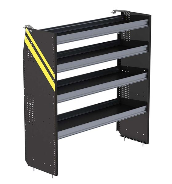 Ranger Design Deep Steel 60in Shelving Unit for High Roof Van