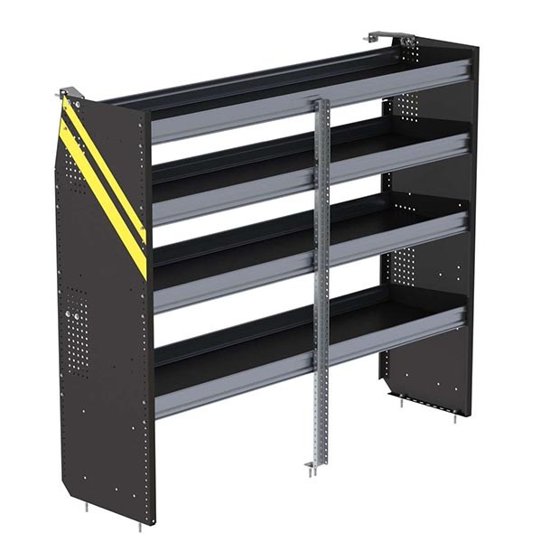 Ranger Design Deep Steel 72in Shelving Unit for High Roof Van