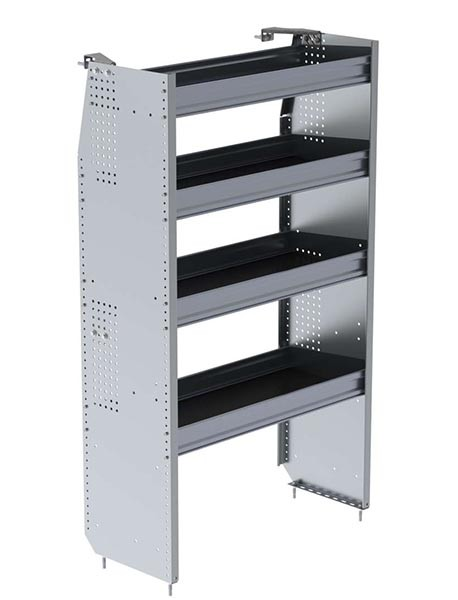 Ranger Design Aluminum 36in Shelving Unit for High Roof Van