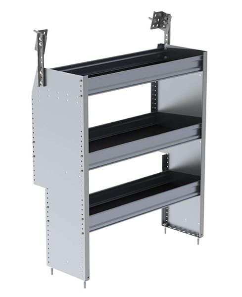 Ranger Design Aluminum 36in Shelving Unit for RAM ProMaster City