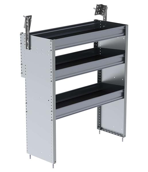 Ranger Design Aluminum 36in Shelving Unit for 2014+ Ford Transit Connect