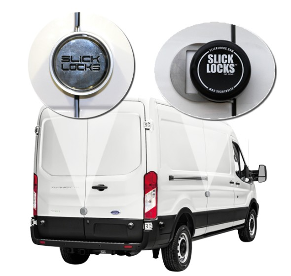 Ford Transit Slick Locks Puck Locks Turn Key Kit